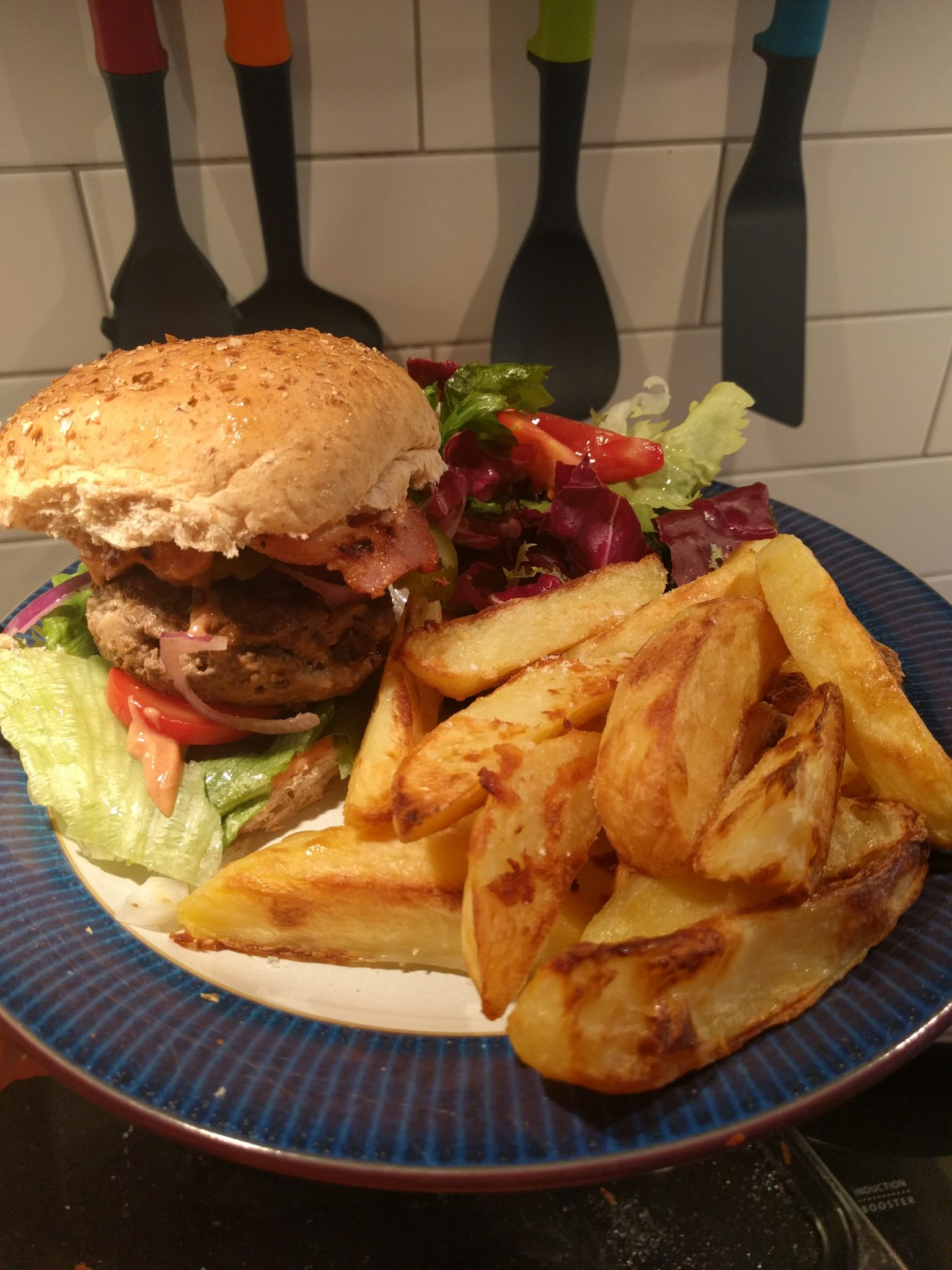 Homemade Burgers with Bacon – Get It Off Me