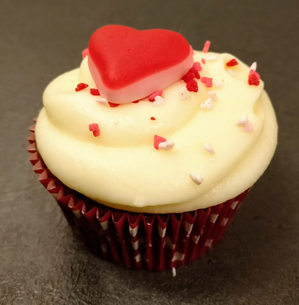 Love is... a syn-full cup cake!